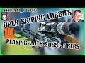 OPEN SNIPER LOBBIES! | ROAD TO 5k | BLACK OPS 3