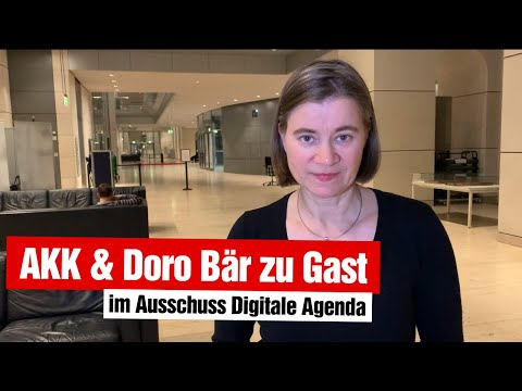 Autonome Waffensysteme & Digitalisierung in den anderen Ministerien (13.11.2019)