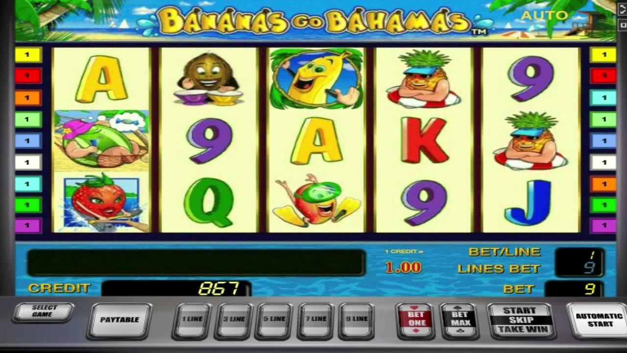 Игровой автомат bananas go bahamas скачать новые автоматы игровые в москве