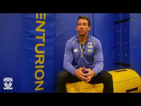 Kurt Gidley's  First Interview & Training Session