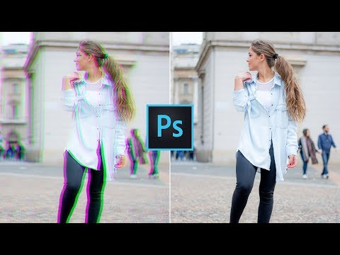 How To Remove Fringing In Photoshop | Remove Chromatic Aberrations And Color Fringing