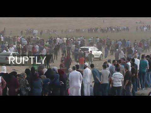 : Palestinian protests continue in Gaza Strip