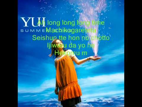 YUI - Summer Song ( Lyrics )
