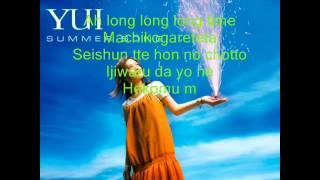 Gambar cover YUI - Summer Song ( Lyrics )