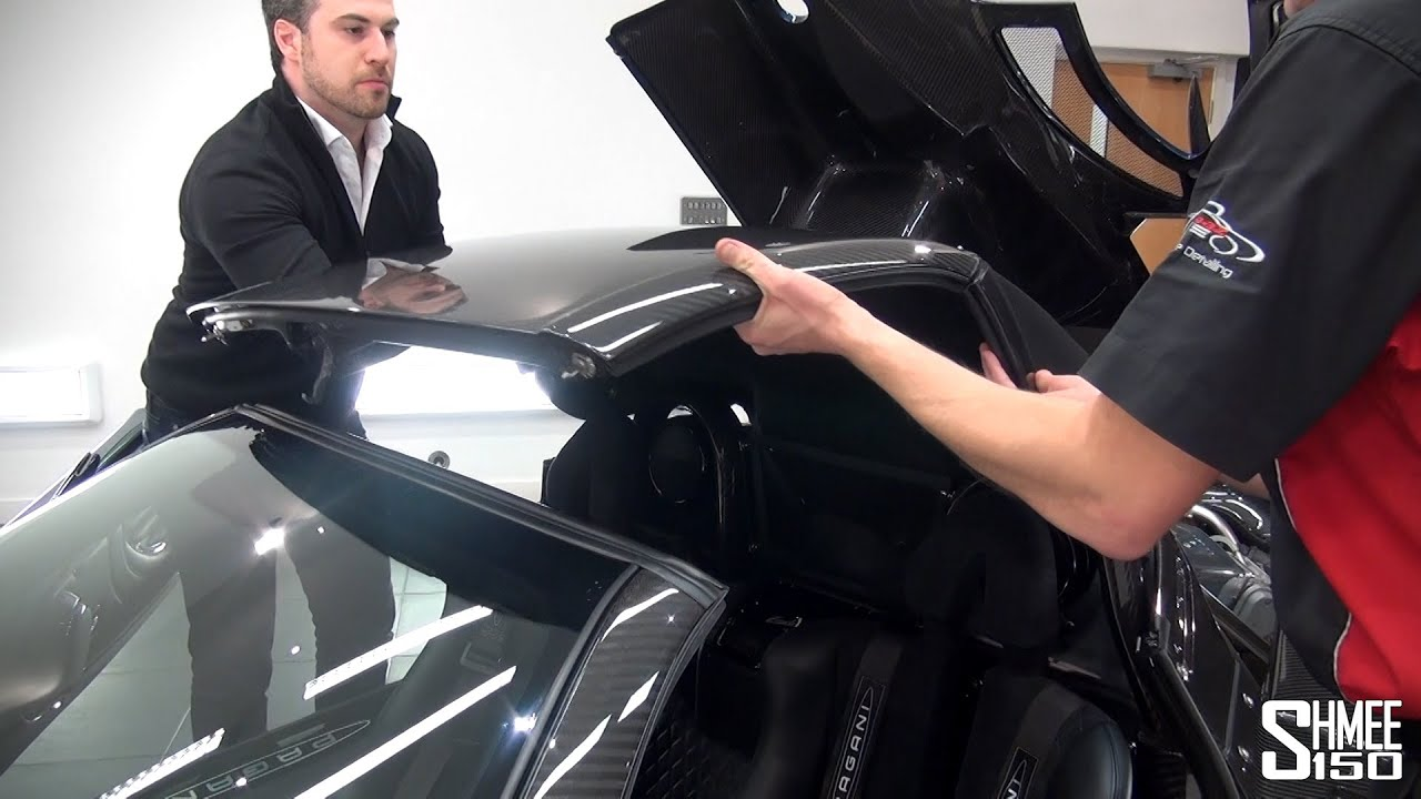 How To Remove The Roof Of A Pagani Zonda 760 Roadster