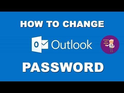 How To Change Hotmail Email Address Password In New Outlook 2017