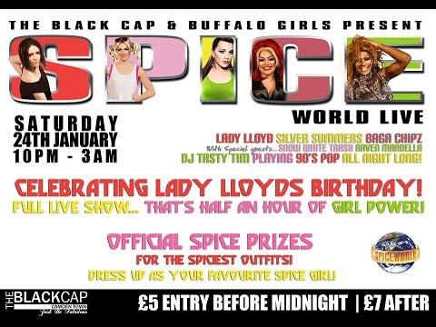 Spiceworld Live @ The Black Cap! - Buffalo Girls - Raven Mandella - Snow White Trash
