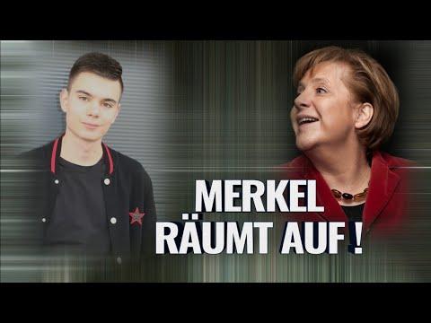 MERKEL RÄUMT AUF!