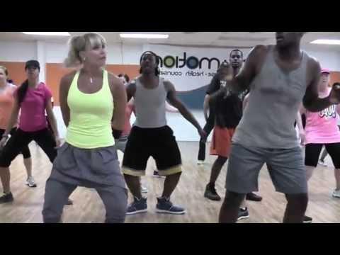 OLD SKOOL HIP HOP WARM UP By DJ Tru - Choreo By Lauren Fitz For Dance Fitness