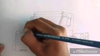 Desenho da Scania 113
