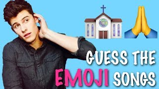 EMOJI CHALLENGE ★ Guess the Shawn Mendes songs