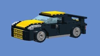 Как сделать машину из лего