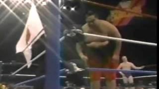 Yokozuna vs Chris Allen