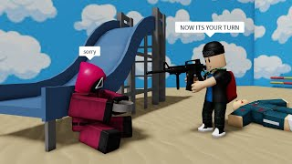 ROBLOX Squid Game FUNNY MOMENTS (REVENGE)