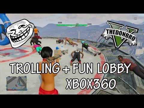 GTA 5 Online - ''Mod Menu'' - Trolling/Fun Public Lobby - Xbox360