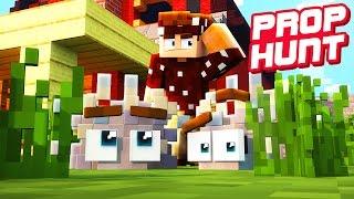 DIESES VERSTECK FINDET NIEMAND! | Minecraft Prop Hunt
