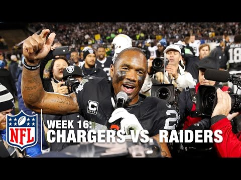 Charles Woodson Says Goodbye To Raider Nation | Chargers vs. Raiders | NFL