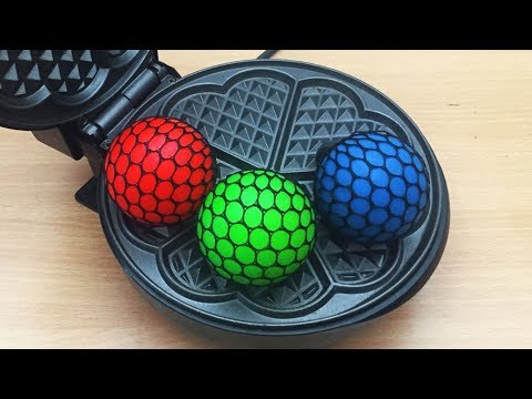 EXPERIMENT WAFFLE IRON vs Anti Stress Balls