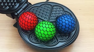 EXPERIMENT WAFFLE IRON vs Anti Stress Balls