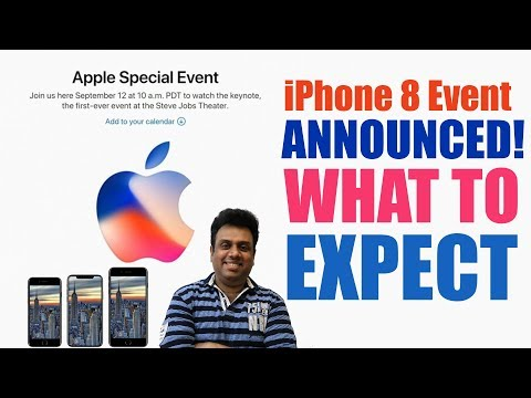 iPhone 8 Event Announced! What To Expect (Hindi)