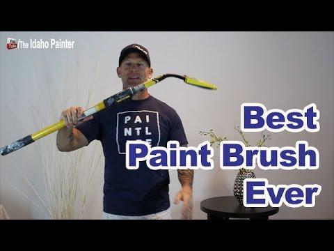 Crazy Paint Brush Hacks.  Best paint tool 2017.