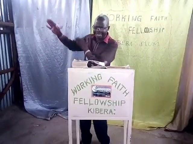 GMFC - WFF Teaching From Genesis 48 - Kibera Slum Fellowship