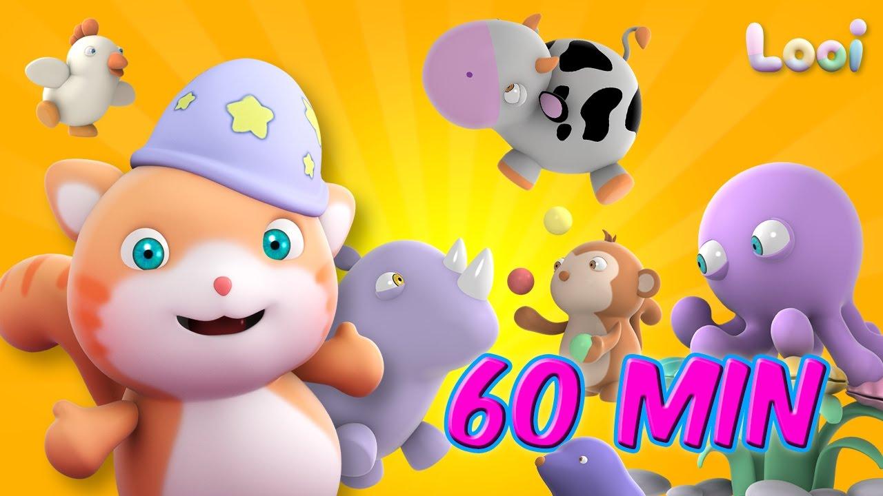 Looi The Cat - Season 2 - 60 min. animation for kids