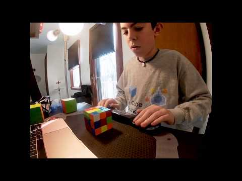 Rubiks Cube Solved: 6.57 Seconds