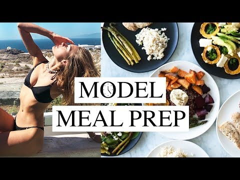 How A Model Meal Preps | Health Diet, Weight Loss, & My 5 Minute Meal | Sanne Vloet