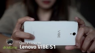 Lenovo VIBE S1 - Quick Review (Indonesia)
