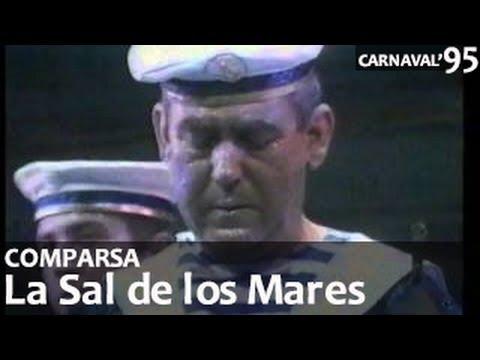 Comparsa, La Sal de los Mares. Gran Final Carnaval de Málaga 1995