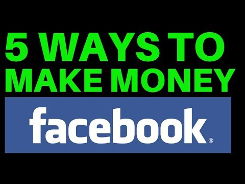5 Ways to Make Money with Facebook and Affiliate Marketing thumbnail