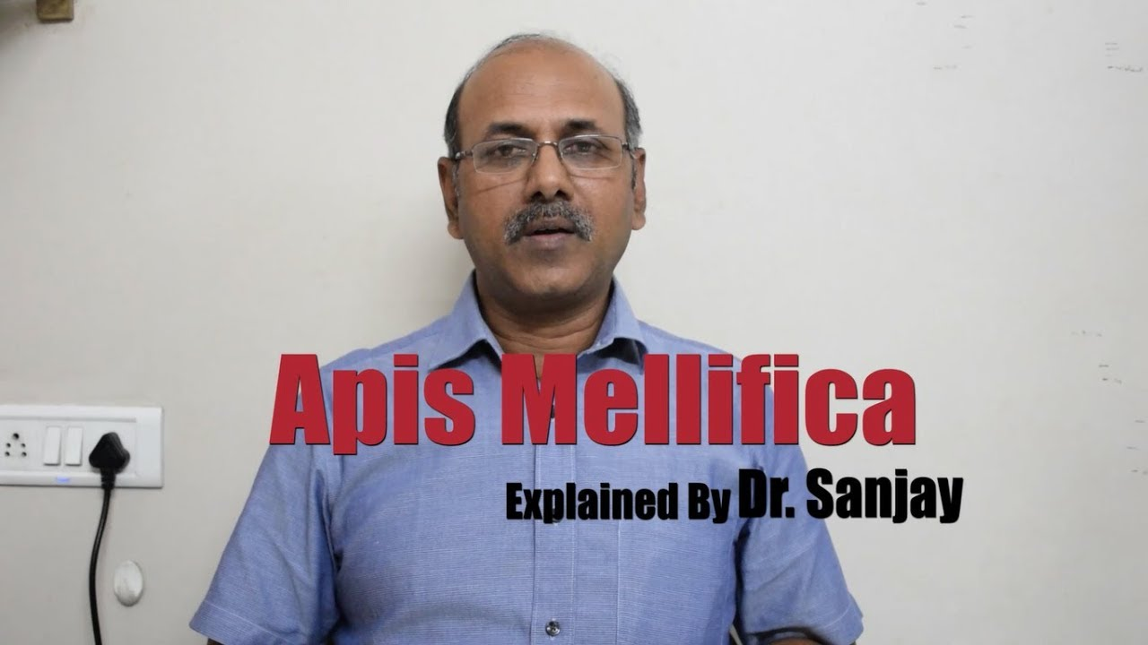Apis Mellifica Explained by Dr  Sanjay [Hindi|]