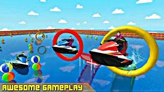Superhero Extreme Jet Ski Racing and Water Race | Crazy Racing Boat Game | Best Boat Racing Game screenshot 1