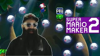 Mario Maker 2: No Skip Endless Super Expert Challenge #12 - Editor PACO Face Reveal