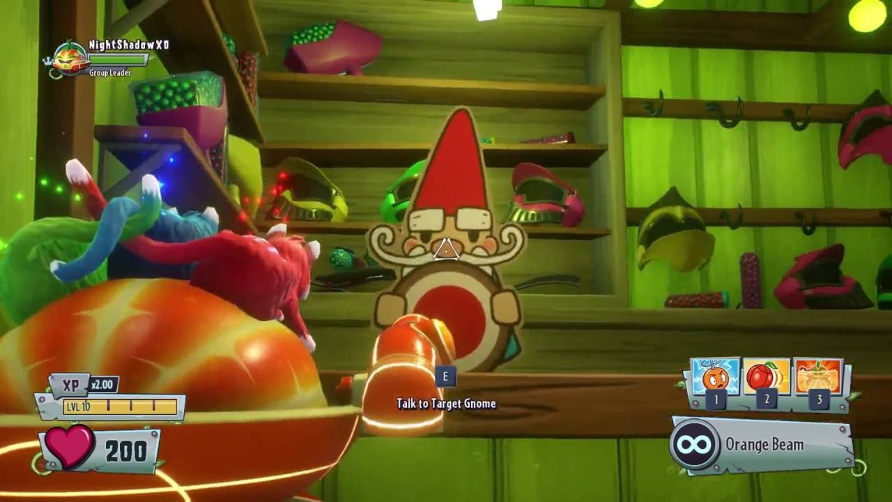 Plants Vs Zombies Garden Warfare 2 Target Gnome Quest Free Coins Side Quest Gameplay Part 29