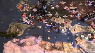Axis & Allies 1940 Global 2nd edition BatteReport OldManSarge