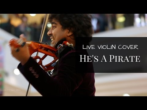 He's a Pirate (Pirates of the Caribbean Theme)Live Violin Cover In a Mall- Abhijith P S Nair