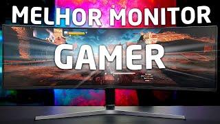 """o MELHOR MONITOR GAMER do Brasil « Samsung » 49"""" Ultra Wide Curvo com HDR"""