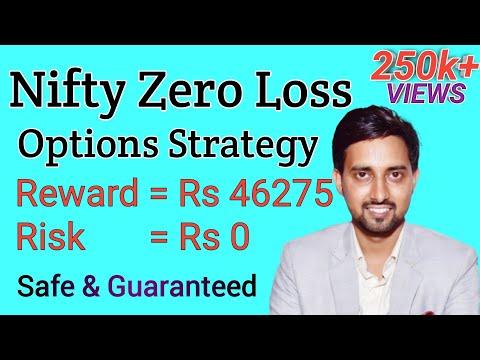 Nifty options jackpot strategy | nifty zero loss options strategy | Options Guide | 46275 profit