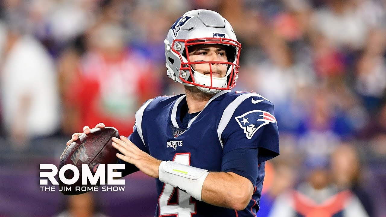 The Patriots FULLY Support Jarrett Stidham | The Jim Rome Show