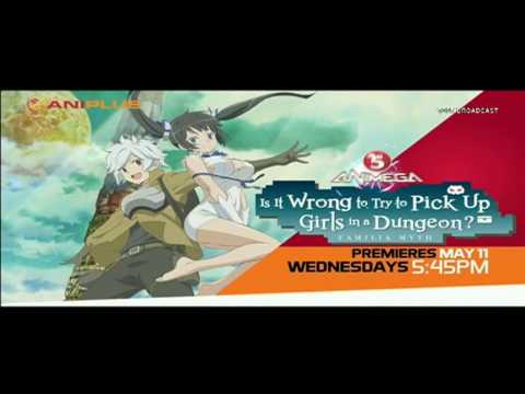 [TV5 ANIMEGA] Is It Wrong to Try to Pick Up Girls in a Dungeon? Teaser