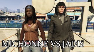Michonne Vs Jadis - THE WALKING DEAD FIGHT NIGHT
