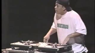 1997 World ITF DJ Finals - Scratching Final - DJ Babu vs Tony Vegas