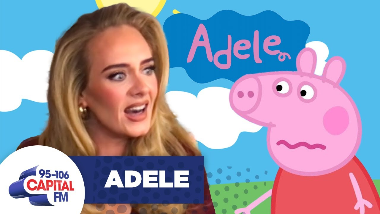 Peppa Pig Confronts Adele Over Her Rejecting Collab Rumours
