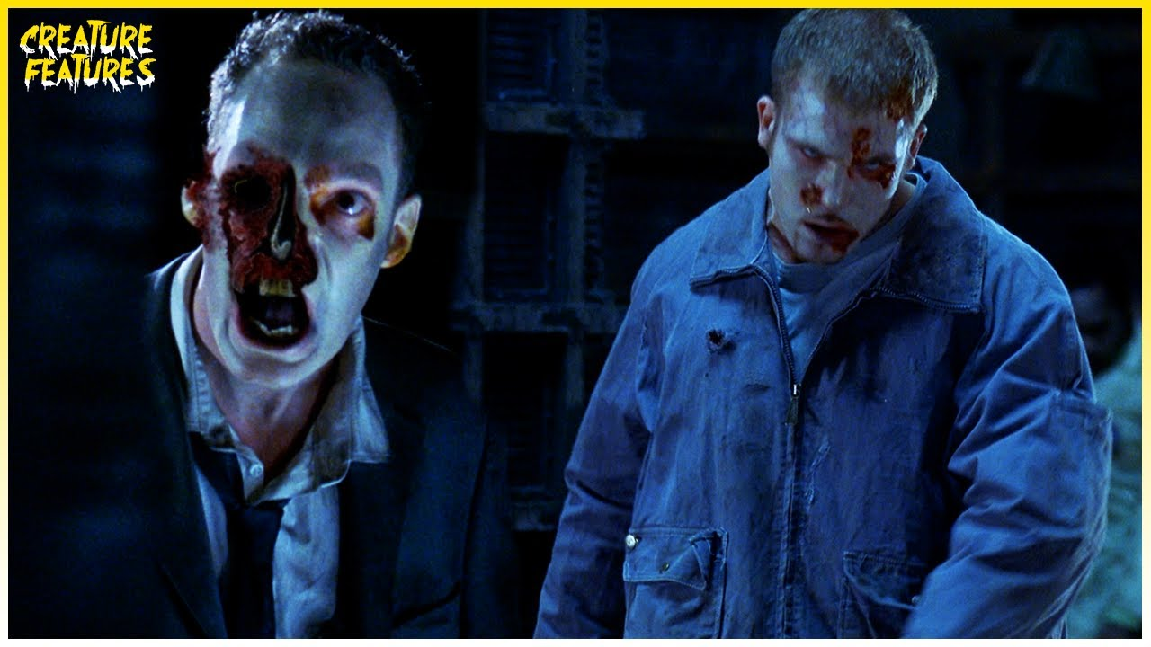 Zombified Office Workers | Resident Evil (2002) | Creature Features