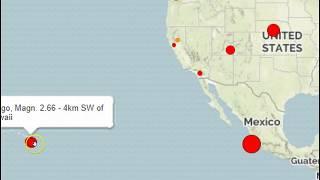 Earthquakes Strike In Nebraska, Utah, Hawaii and Mexico