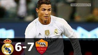 реал Мадрид - Рома 0-0(6-7) - Обзор Матча Международного Кубка Чемпионов 18/07/2015 HD