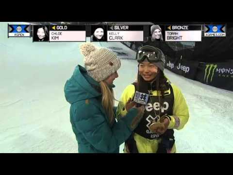 CHLOE KIM WINS GOLD IN WOMEN'S SNOWBOARD SUPERPIPE ...