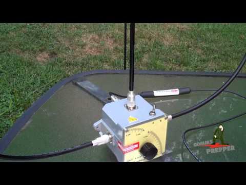 Portable Tactical HF Loop Antenna (Chameleon Antennas CHA F-Loop)